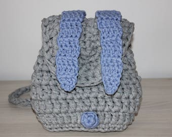 crochet toddler backpack