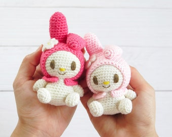 Little Hello Kitty Amigurumi, English Pattern | Hello kitty ... | 270x340