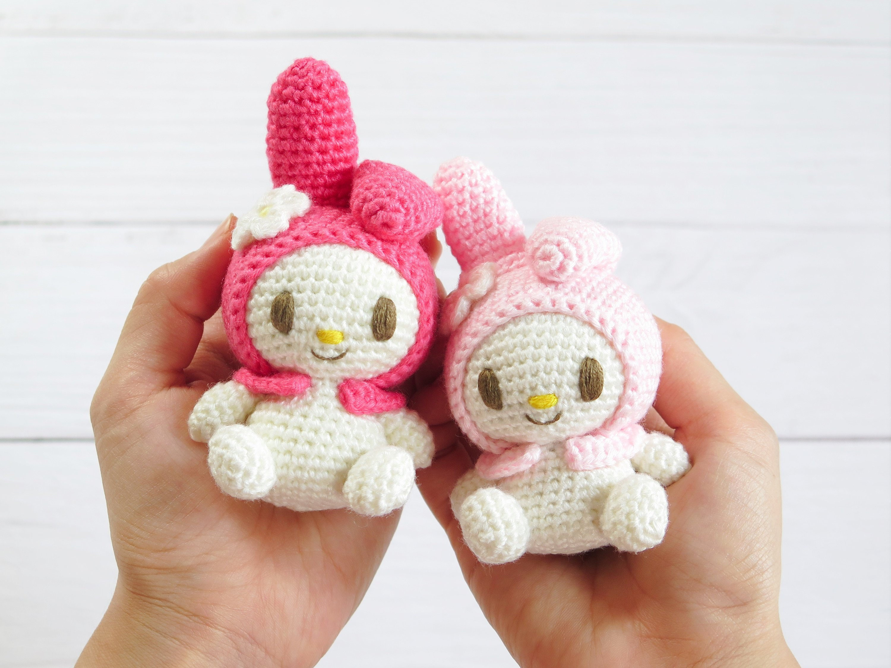 Crochet Pattern * Hello Kitty Angel with Heart – Stricken und ... | 2250x3000