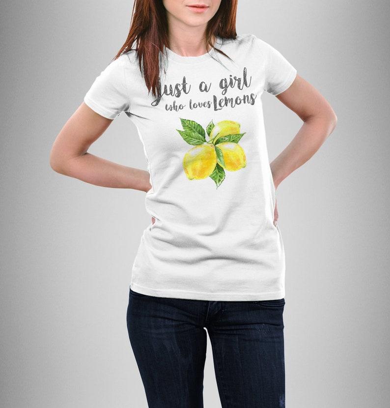 6c9e456cc Lemon shirt women Lemon t-shirt for girls Lemons tee shirt | Etsy