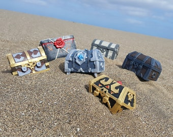 Sea Of Thieves Inspired Treasure Chests