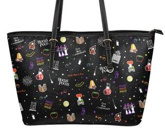 Hocus Pocus Purse, Disney Purse, Disney Halloween, Handbag, Tote Bag, Sanderson Sisters, Witch, Bag, Disney Gifts, Disney Bag, Hocus Pocus,