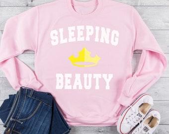 a510181b Disney Shirt, Disney Sweatshirt, Sleeping Beauty Sweatshirt, Disney  Princess, Princess Sweatshirt, Aurora, Princess shirt, Pink Sweatshirt