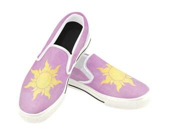 Rapunzel shoes | Etsy