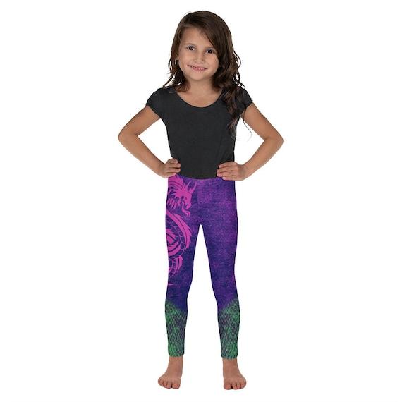Descendants Disney Descendants Mal Dragon Maleficent Disney Gifts Kids Leggings Leggings Disney Halloween Girls Leggings Yoga Pant