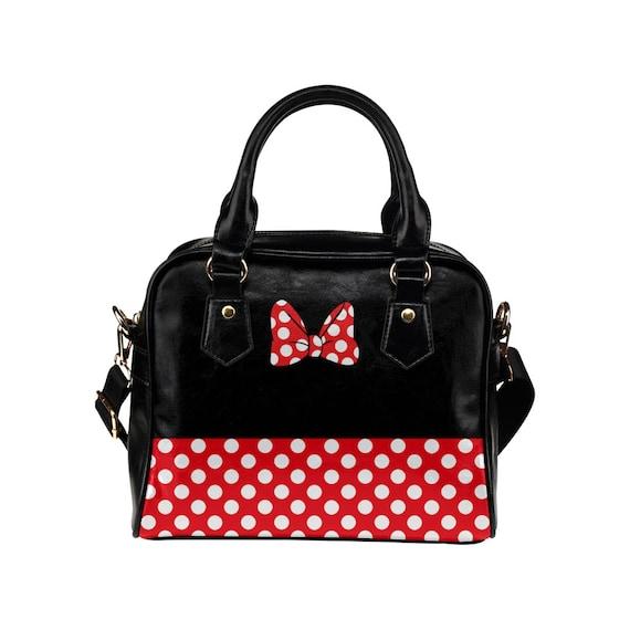 Minnie Mouse Bag, Disney Bag, Minnie Mouse Purse, Minnie Mouse Handbag, Disney Handbag, Shoulder Bag, Disney Purse, Mickey Mouse, Disney