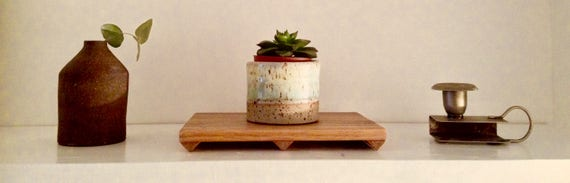 Plinth // Small // For: Candles, Perfumes, Plants, Ceramics by Etsy