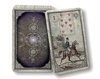 Lenormand maps Dondorf and Altenburger Reprints from 1880 Design : Old Vintage Window by Spirit of Elements.