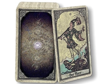 Tarot cards Smith-Waite Reprint from c. 1915 Design : Vintage Window by Spirit of Elements.