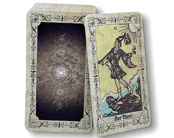 Tarot karten Smith-Waite Reprint from c. 1915 design : Fleur de Lille by Spirit of Elements.