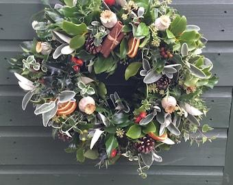 Exceptionnel Luxury Door Wreath