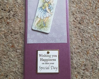 Flower fairies themed birthday / anniversary/ all occasion card