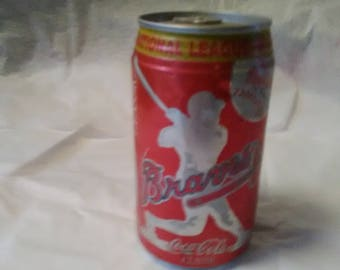 1991Braves National League Champions Coke Can
