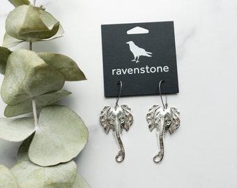 NEW RELEASE | The Silver Elephant Earrings | ravenstone