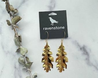 LIMITED EDITION | The 24K Golden Fall Forever Earrings | ravenstone