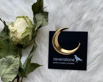 The Golden Moon Pin | Ravenstone