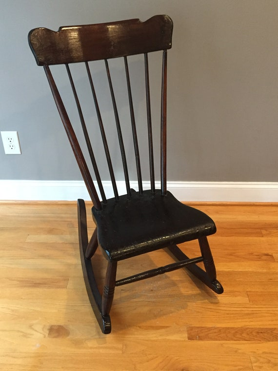 Strange Early Antique Rocking Chair Camellatalisay Diy Chair Ideas Camellatalisaycom