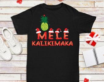 Mele Kalikimaka Hawaiian Shirt Christmas Card