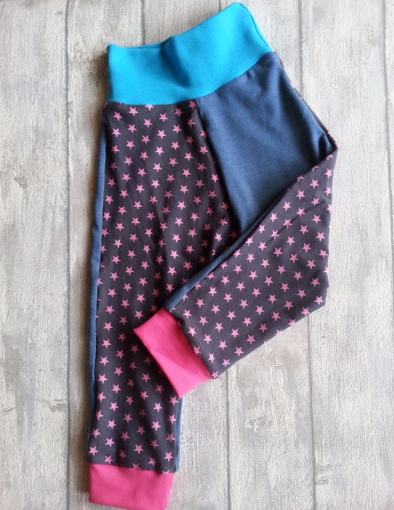 Baby Set Pumphose /& scarf Star Size 566268748086 Grey girl pink Pumphose girl bloomers