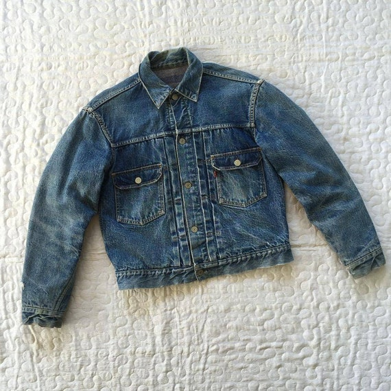 True Vintage 1950s Levi's Capital E 507xx Type 2 B