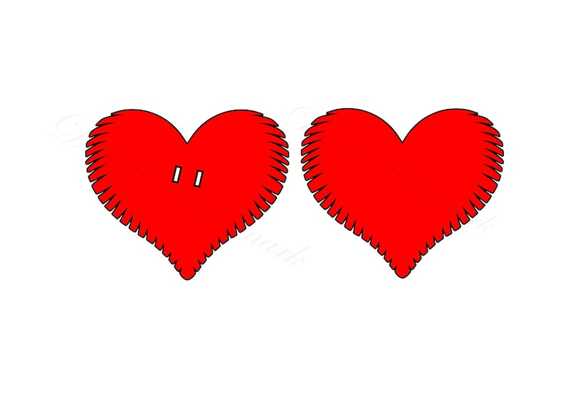 Heart SVG /& Studio 3 Cut File for Silhouette Cricut Files Cutouts Svgs Diy Decal Decals Valentine Day Love Hearts Valentine Decoration