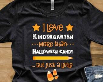 Kindergarten Teacher Shirt Great Gift Idea I Teach Etsy