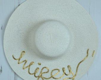 crocheted raffia straw sun hat wide brim floppy hat with 1d69c961ac18