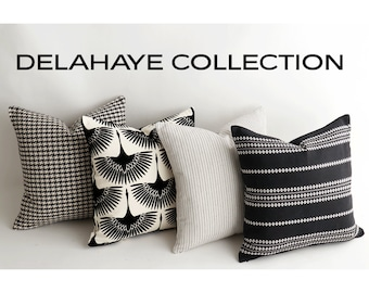 Delahaye Collection // Decorative Pillows For Couch // Couch Pillow Covers  // A029