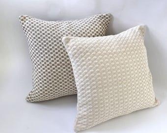 Bobble Collection // Euro Sham Multiple Sizes // Large Throw Pillows // Euro Pillow Sham