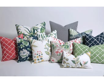 Garden Party Collection // Accent Pillow Covers // Decorative Pillows // Pillows For Couch