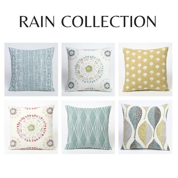 Decorative King Pillow Shams.Rain Collection Decorative King Size Shams Bedroom Decor European Shams