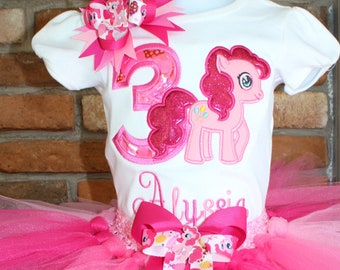 My Little Pony Birthday Outfit GirlsPinkie Pie OutfitPinkie TutuPinkie Party