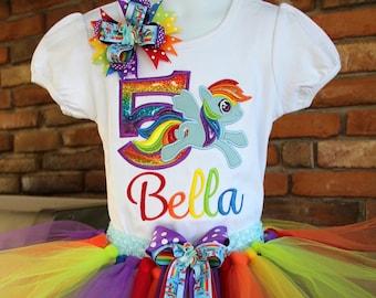 b8c717a4eb52b Rainbow Dash Tutu Outfit, Rainbow Dash Birthday Outfit, My Little Pony Tutu  Set,My Little Pony Birthday Outfit,Rainbow Dash Dress, Rainbow