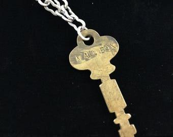 Mail Box Key Necklace