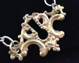 Decorative Keyhole Necklace