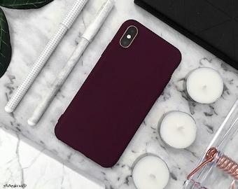 iphone 8 plus case etsymaroon iphone case iphone xs max case iphone xs case iphone xr case iphone x case iphone 8 plus case iphone 8 case 7 plus 7 6s 6 silicone