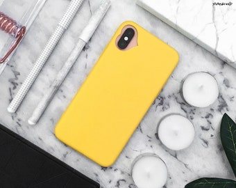 timeless design 71ca0 6a4d4 Yellow iphone case | Etsy