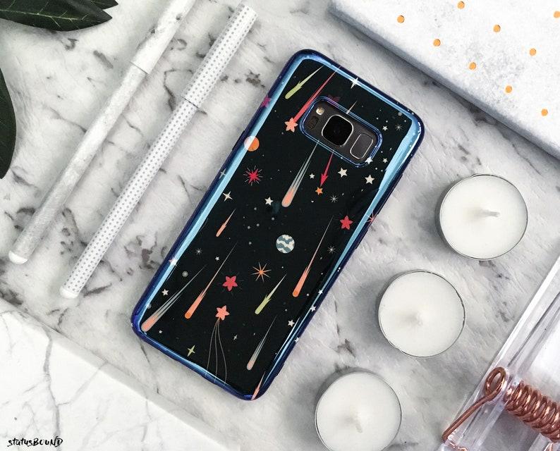 info for 0f3db e61d0 Space Samsung Galaxy Case Galaxy S9 Case Galaxy S9 Plus Case Note 9 Case  Galaxy S8 Case Galaxy S8 Plus Case Case Note 8 Black Shooting Stars