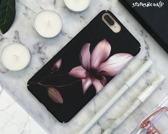 Floral iPhone Case iPhone X Case iPhone 8 Case iPhone 8 Plus Case iPhone 7 Case iPhone 7 Plus Case iPhone 6S Case 6S Plus Case Flower Lily