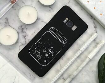 Space Samsung Galaxy Case Galaxy S9 Case Galaxy S9 Plus Case S9+ Galaxy S8 Case Galaxy S8 Plus Case S8+ Case Galaxy Note 8 Case Star Jar