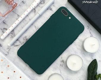 Green iPhone Case iPhone 8 Case iPhone 8 Plus Case iPhone 7 Case iPhone 7 Plus Case iPhone 6S Case iPhone 6S Plus Case iPhone 6 Silicone