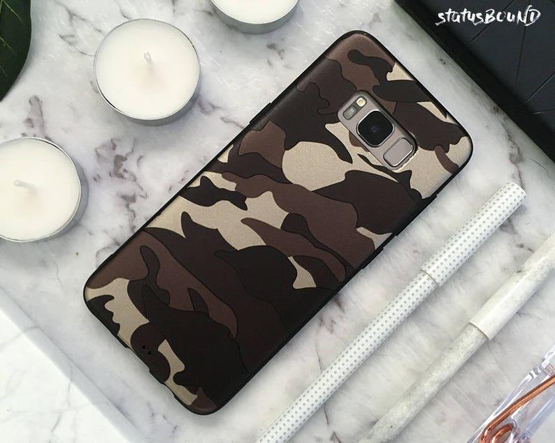 size 40 c73c6 dcda2 Camouflage Samsung Galaxy Case Galaxy S9 Case Galaxy S9 Plus Case Galaxy S8  Case Galaxy S8 Plus Case Galaxy Note 8 Case Note8 Camo Brown