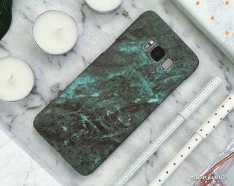 Marble Samsung Galaxy Case Galaxy S9 Case Galaxy S9 Plus Case S9+ Galaxy S8 Case Galaxy S8 Plus Case S8+ Case Galaxy Note 8 Case Green