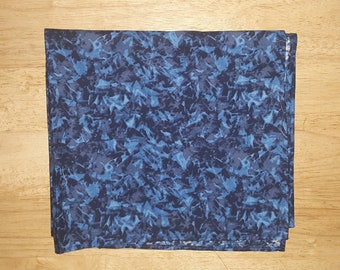 Blue print bandana
