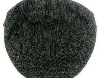 ITALY SOLEN BLACK Wool Hat