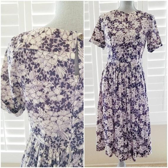 lavender bloom dress