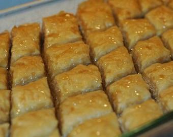 Walnut Baklava -12 piece