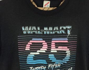 3d29ca8e Walmart 25th Anniversary Men's L Vintage T-Shirt