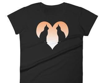 I Love Cats. Cat Lover Women's short sleeve t-shirt