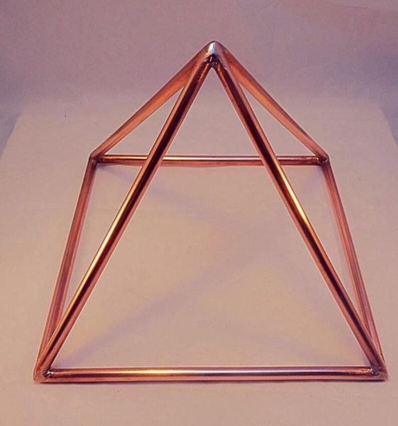 Copper Pyramid - 10 inches